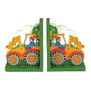 Digger Bookends