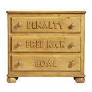 Football Chest of Drawers