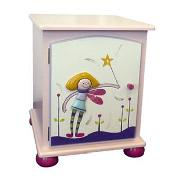 Funky Fairies Bedside Cabinet