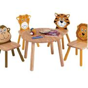 Jungle Playroom Set with Round Table