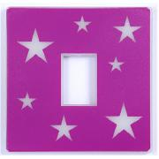 Pink Glow In the Dark Light Switch Cover