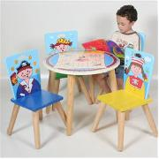 Pirates Table and 4 Chairs Set