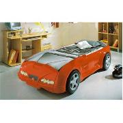 Spider Racing Car Bed In Red