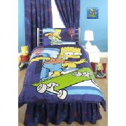 Bart Simpson Skaterboy Bedding