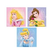 Disney Princesses Art Squares