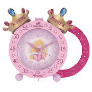 Disney Princesses Time Teacher Twin Bell Alarm Clock