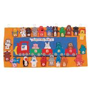 Spelling Train Wall Hanging