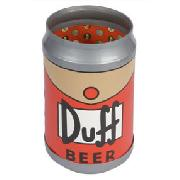 The Simpsons Duff Beer Talking Reversible Bin