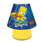 The Simpsons Sk8 Bart Kool Lamp