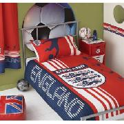 England Print Single Bedlinen Set