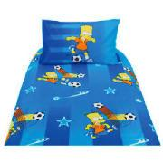 Kids' Bart Simpson Duvet Set