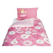 Kids' Fairy Circles Duvet Set, Pink