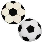 Kids' Football Shaped Cushion and Rug