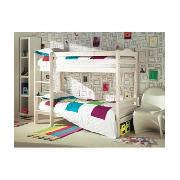Jamestown Bunk Bed - Whitewash