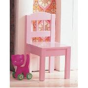 Kid's Wooden Chair - Pink
