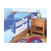 Mothercare Soft Fold-Down Bed Guard - Blue
