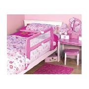 Mothercare Soft Fold-Down Bed Guard - Pink
